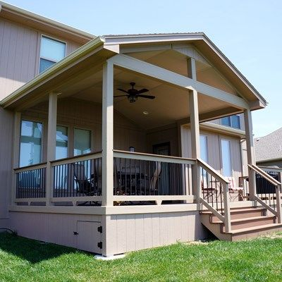 Gable roof porch 3 picture 5167 - Screen porch roof set ...