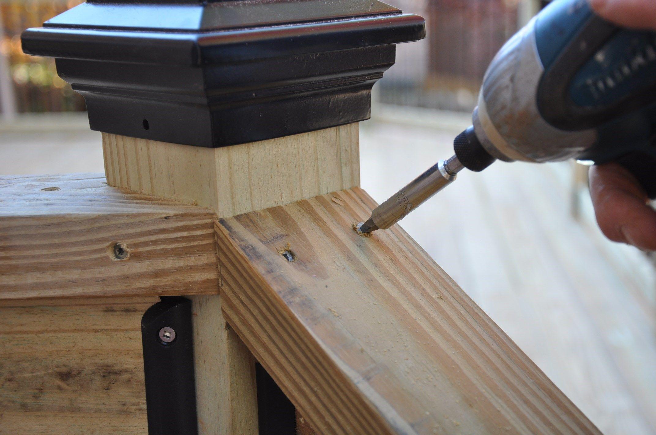 Decks Com Deck Stair Railings
