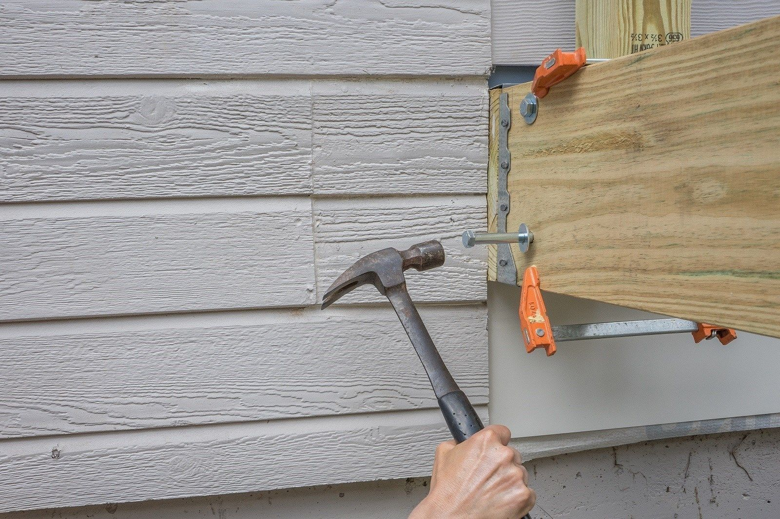 How to install a deck railing - Deck Rail Post Attachment