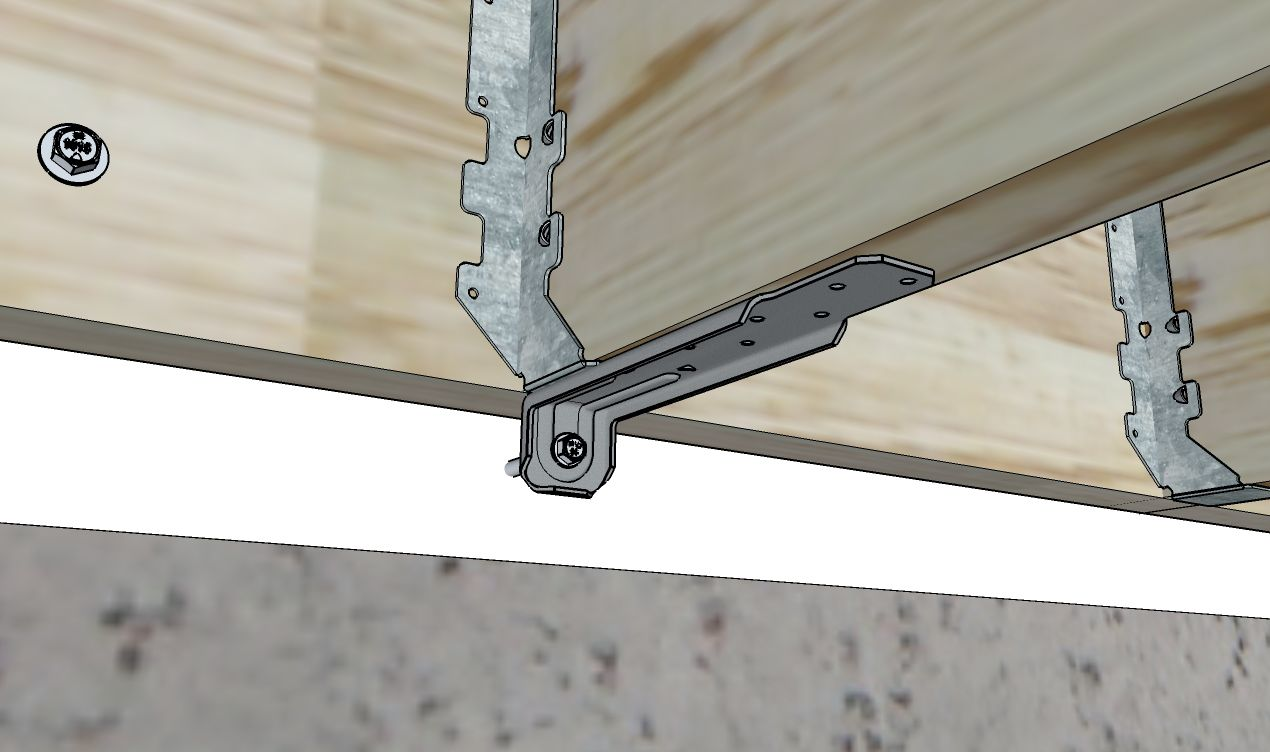 Decks Com Lateral Load Connector Device
