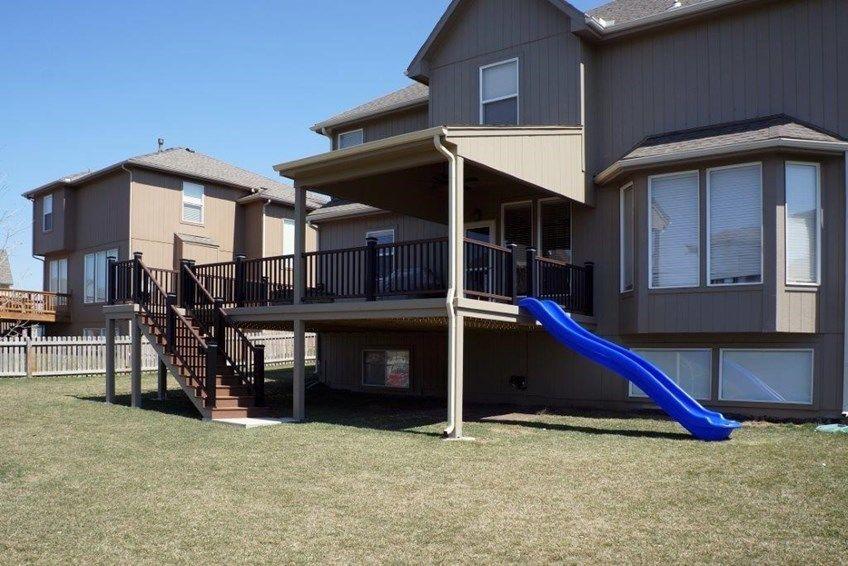 Decks Com Porch Roof Types
