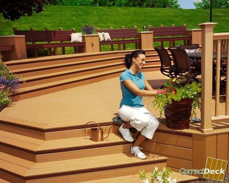 Endeck decking reviews home design idea for Evergrain decking reviews