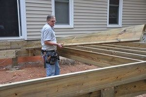 how to build a deck framing