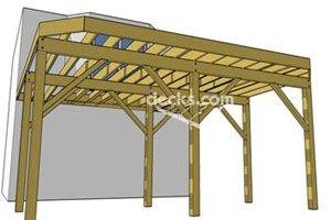 Decks Com Ledger Board Attachment To Brick Siding