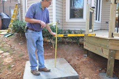 How To Lay Out Deck Stair Stringers Decks Com