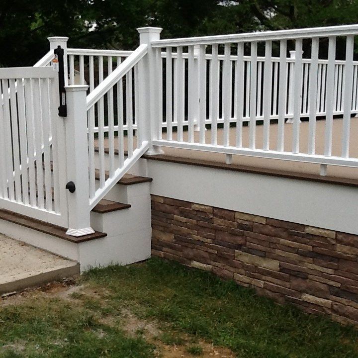 Image Result For Enclosing A Deck