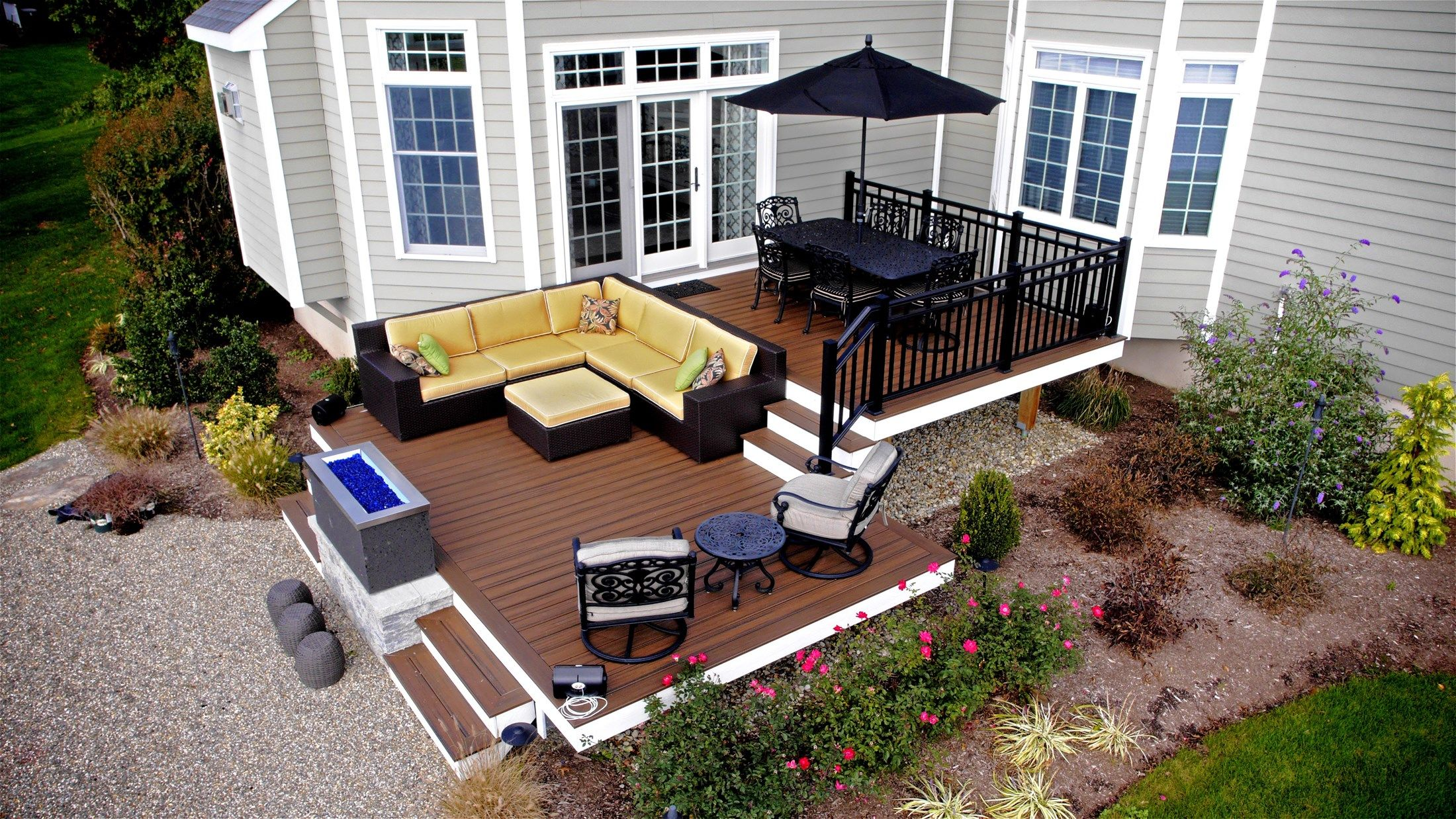 Composite decking material review for Building a composite deck