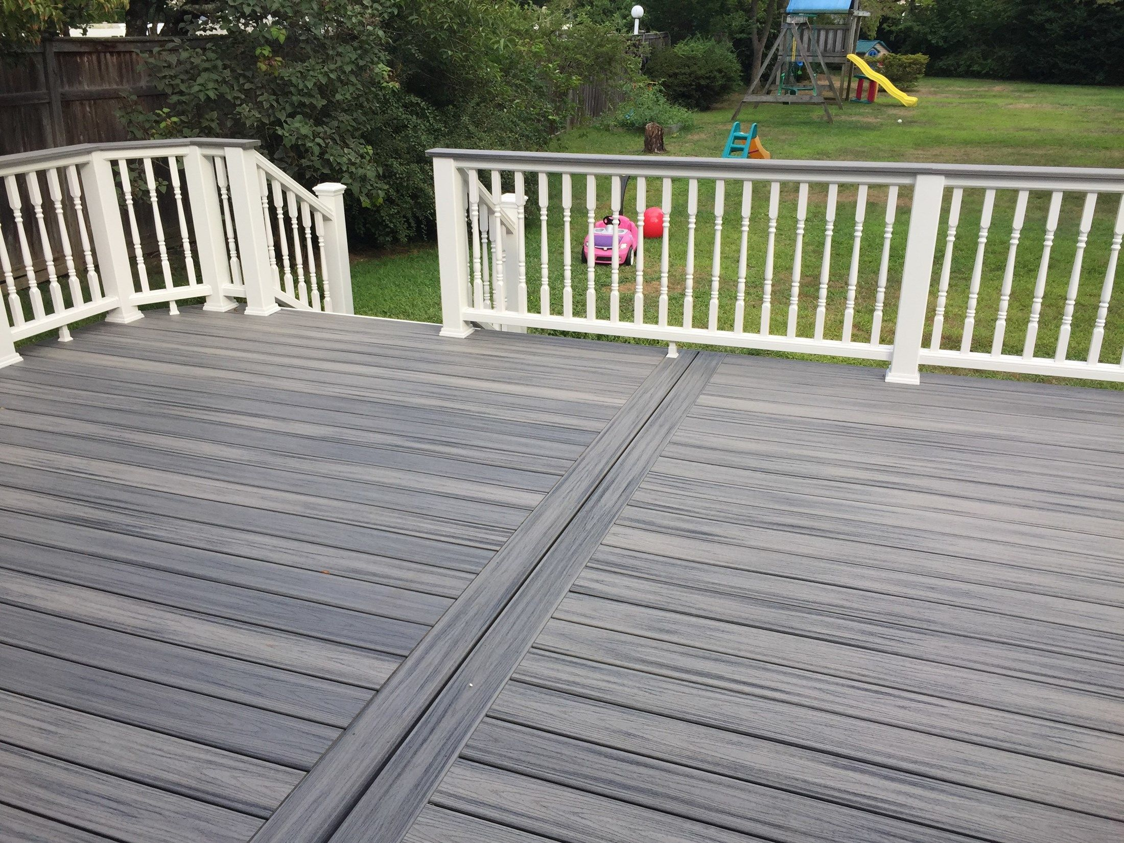 Seaford ny deck builder pictures stellar for Trex decking