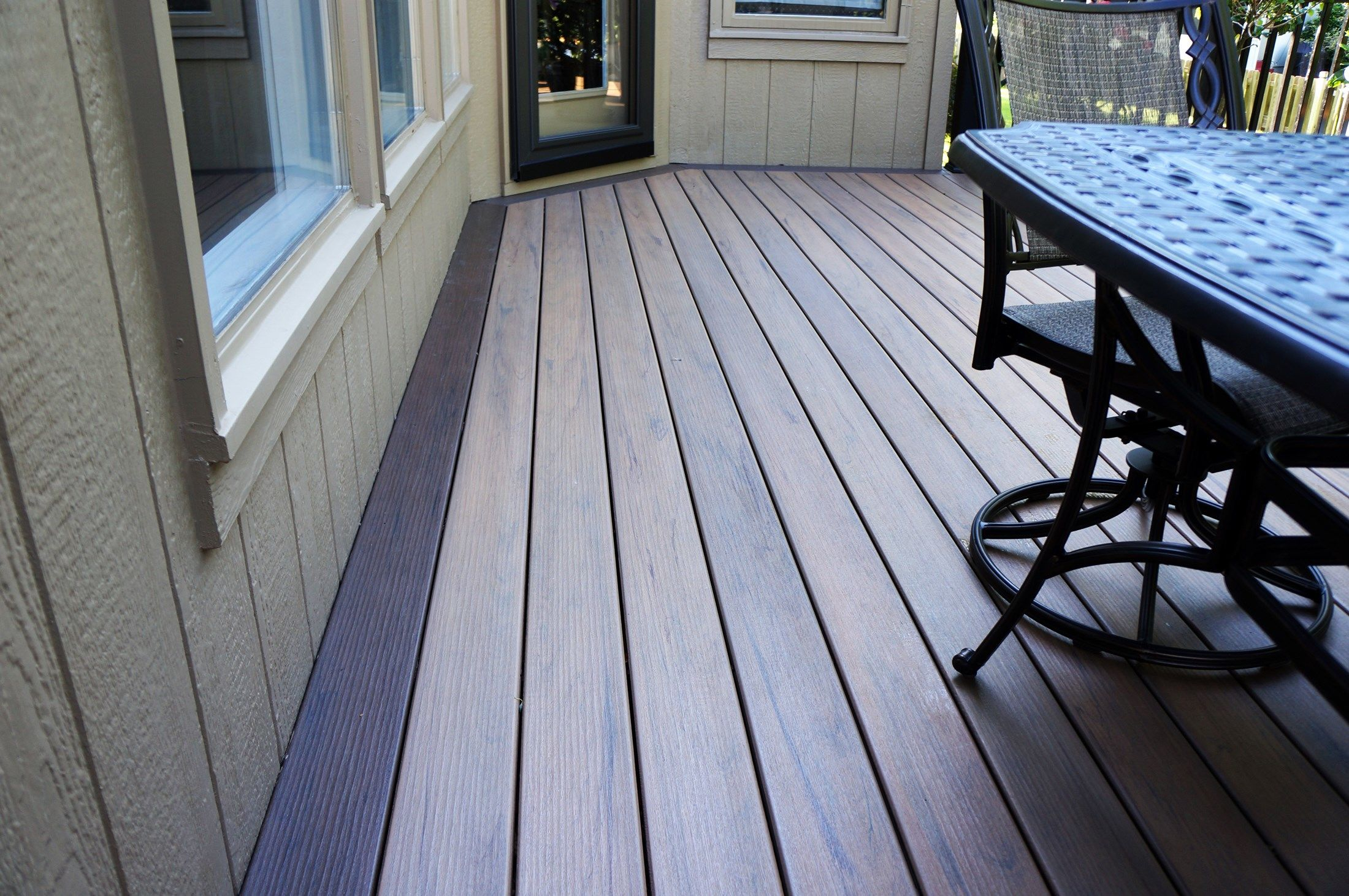 Timbertech deck 4 picture 5137 for Composite deck material reviews