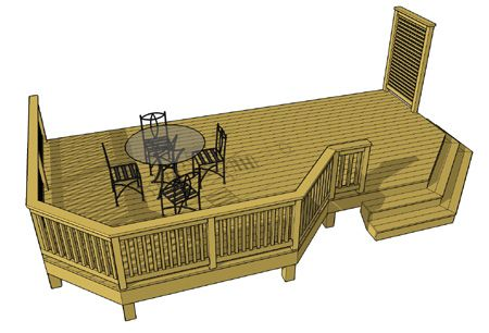 Free plans for Rv deck plans