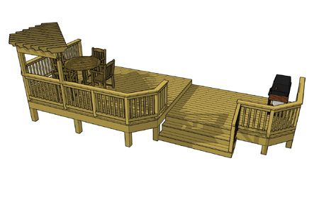 12 by 16 deck plans pictures to pin on pinterest pinsdaddy for 16x20 deck plans
