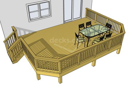 Free plans for Free deck design