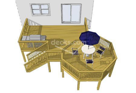 Free plans for Free elevated deck plans