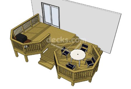 low elevation decks - Home Deck Design