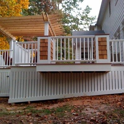 Cape Cod Deck - Picture 1082