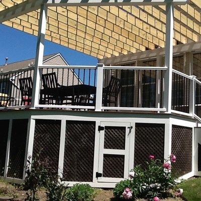 A Robbinsville Pergola - Picture 1144
