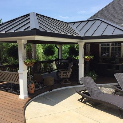 Deck and gazebo - Picture 1187