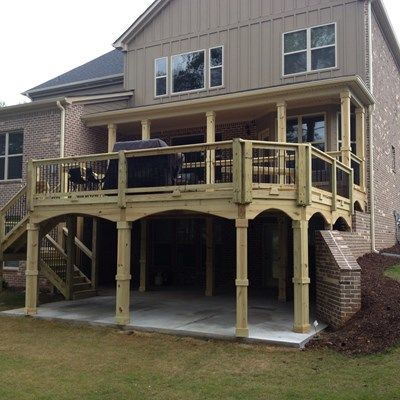 Deck and gazebo - Picture 1195