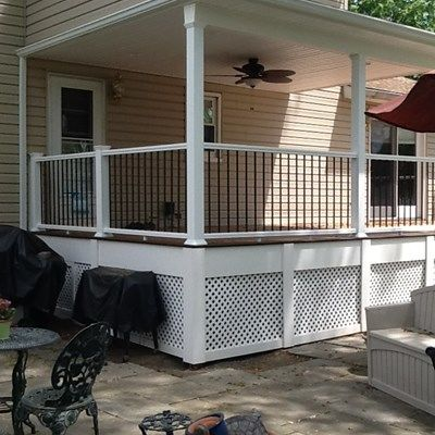 Best of both Deck and Patio - Picture 1221