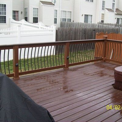 Custom Railing in Burlington NJ - Picture 1249