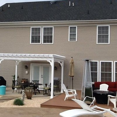 Free Standing Pergola - Picture 1307