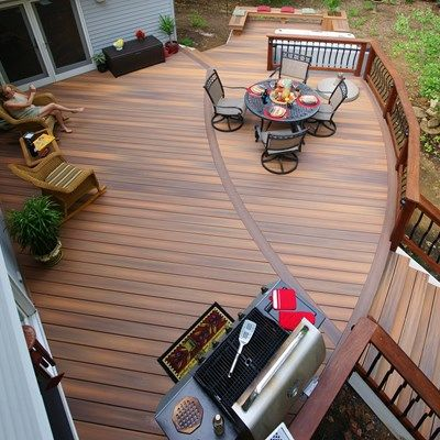 Davidson curved deck - Picture 1408