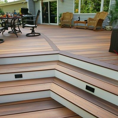 Davidson curved deck - Picture 1413