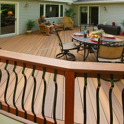 Davidson curved deck - Picture 1417