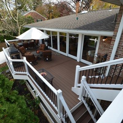Multi Level Deck - Picture 1779