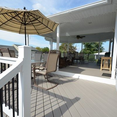 Custom Deck with Roof - Picture 1782