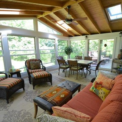 Deck and sunroom - Picture 1789
