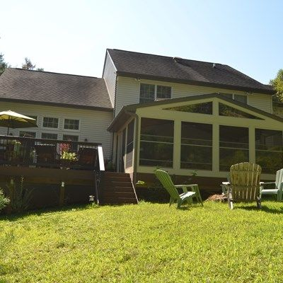 Deck and sunroom - Picture 1790