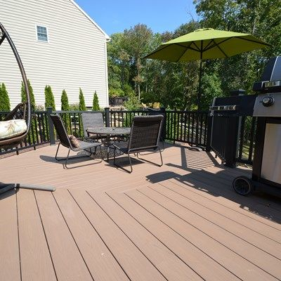 Custom Multi Level deck - Picture 1796