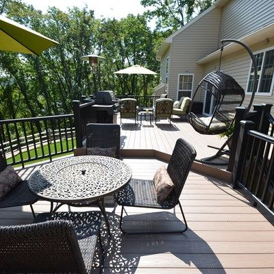 Custom Multi Level deck - Picture 1797