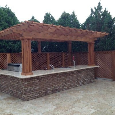 Outdoor Kitchen & Pergola - Picture 1878