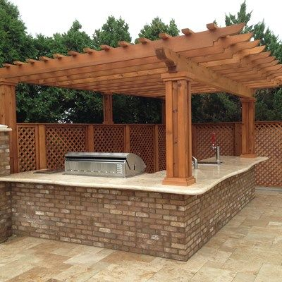Outdoor Kitchen & Pergola - Picture 1881