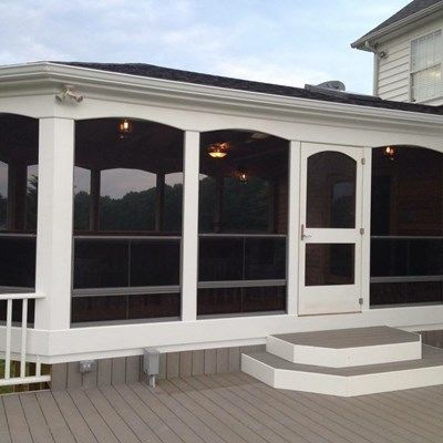 Custom Cedar Porch - Picture 1945