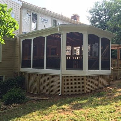Custom Mahogany Porch - Picture 1959