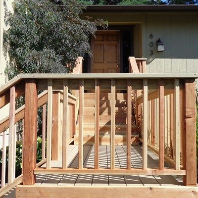 Tullock entry deck - Picture 2000