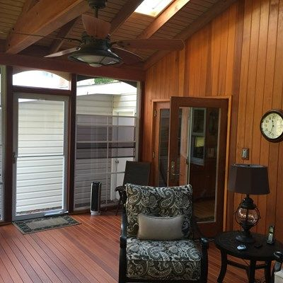 Porch with EZ Breeze window. - Picture 2007