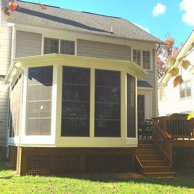 Cedar Screen Porch - Picture 2040