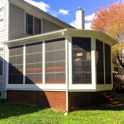 Cedar Screen Porch - Picture 2043