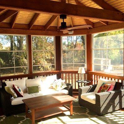 Cedar Screen Porch - Picture 2045