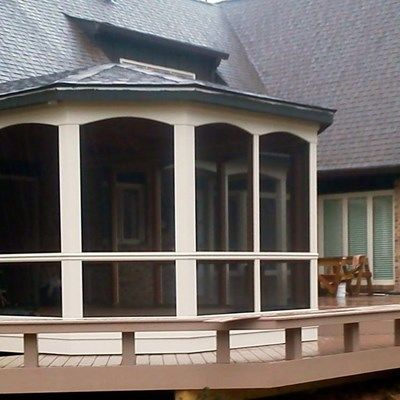 Deck and Screen Porch - Picture 2049