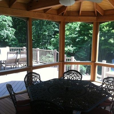 Deck and Screen Porch - Picture 2058