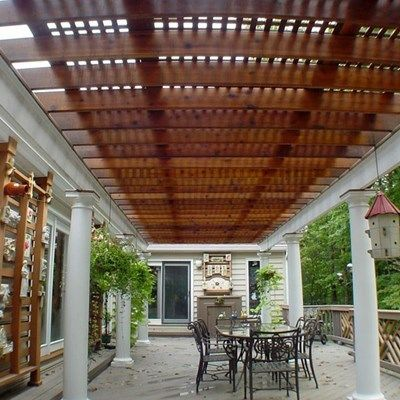 Deck with Arbor/Trellis - Picture 2101