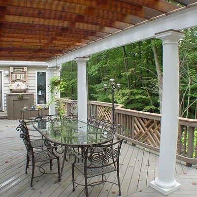 Deck with Arbor/Trellis - Picture 2102