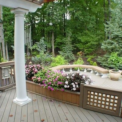 Deck with Arbor/Trellis - Picture 2104