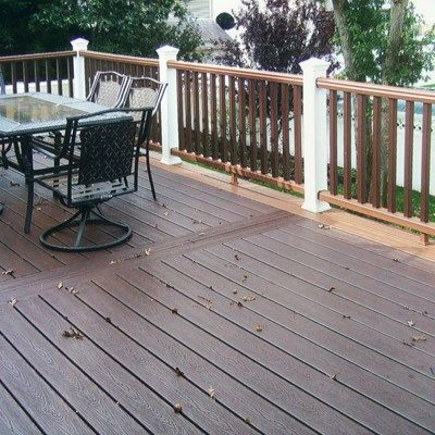 Timbertech Second Story Deck - Picture 3189