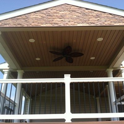 Custom Roofed deck in Upper Freehold NJ - Picture 3230